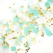 gold flake toilet paper. mint white gold metallic tissue paper shredded circle confetti party decoration flake toilet n