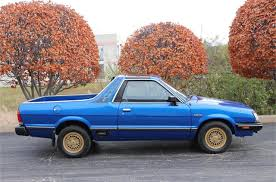 Remember the Subaru Brat with seats in the pickup bed?