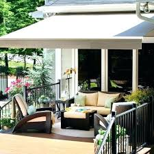 C Shade Awnings For Decks Deck Awning Ideas Patios And Best  Retractable