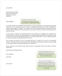 basic cover letter for intership basic cover letters samples