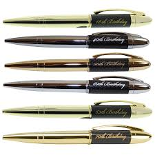 stunning birthday pen in gift boxed on your choose design