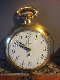 vintage united clock pocket watch wall clock electric model no 310 1 of 4only 1 available