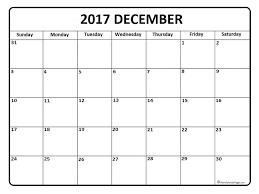 December Calendar Blank Under Fontanacountryinn Com