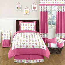 owl bedding set twin pink happy owl bedding 4 twin set by sweet designs only bedding