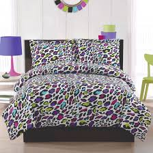 Leopard Print Bedroom Bedding Sets For Girls Print Livin Large Leopard Comforter Sham