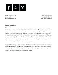 Cover Letter To Fax Cover Letter Fax Business Fax Cover Sheet Fax Cover Sheet Free Blank