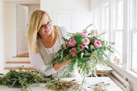 Small Picture Floral designer arranges garden roses The Columbian