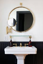 bathroom mirror with lights built in. surprising bathroom mirror with built in light 24 x 36 golden frame rounded white standing sink black wall lights r
