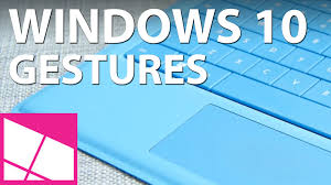 Windows 10 touchpad gestures - YouTube