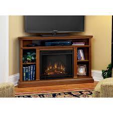 real flame 50 churchill electric corner fireplace in oak 3750e