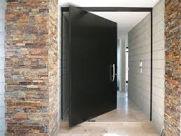 Pivot Front Door Designs Pivot Doors Contemporary Entry Orange ...