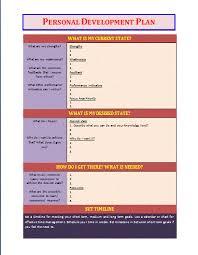 personal development plan template business templates personal development plan template button