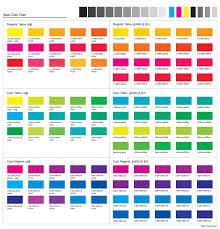 Printing Colour Chart Offset Printing Color Chart Www Bedowntowndaytona Com