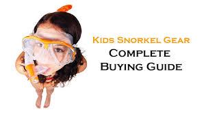 Us Divers Junior Snorkel Set Size Chart Snorkel Gear For Kids Guide Snorkel Around The World