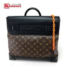 louis vuitton louis vuitton m44473 steamer pm monogram solar lei handbag leather monogram solar