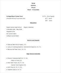 Cv Resume Example Sample Academic Resume Template Cv Resume Example
