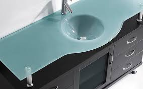 double vanity glass countertop choosing a bathroom vanity top