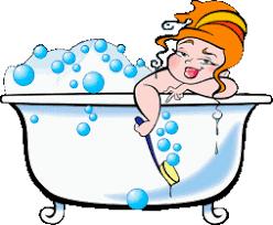 bathtub cartoon. 254x209 bathtub cartoon