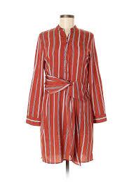 Details About Gianni Bini Women Red Casual Dress Sm