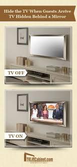 tv in mirror. tv hidden behind a mirror more tv in