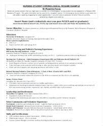 Student Nurse Resume Objective Resume Nursing Student Nursing ...
