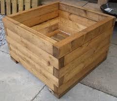 diy wood planters diy wooden planters