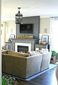 smlf fireplace decor with tv above contemporary ideas mantel photo design