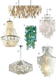 capiz shell chandelier shell chandeliers get the look decor large round capiz shell chandelier