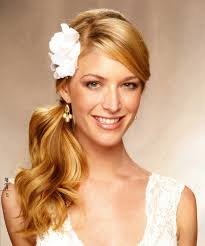 Half Ponytail Hairstyles Curly Side Pin Up Hairstyles Wedding Hairstyles Ideas Side