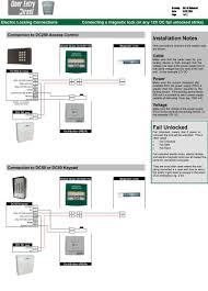 srs wiring diagrams connection guide fail unlocked electric locks eg mag locks