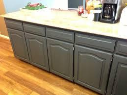 using chalk paint to refinish kitchen
