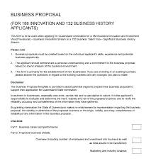 sample business proposal business proposal format template
