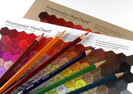 Prismacolor Pencil Blank Color Chart Prismacolor Hex Chart