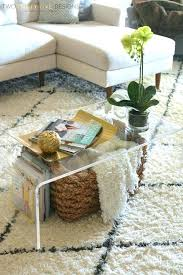 clear acrylic coffee table amazing lucite in 11 for inspirations 5