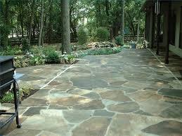 loose flagstone patio. Step 1 Loose Flagstone Patio