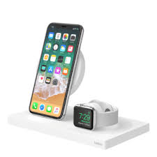 <b>3 in 1</b> Wireless <b>Charging</b> Pad + Apple Watch Dock | Belkin
