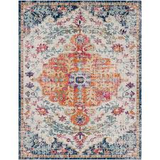 surya harput ivory 8 ft x 10 ft indoor area rug