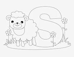 Coloring Pictures Of Lions And Lambs L L L L L