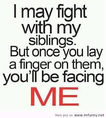 Funny Sibling Quotes Classy Funny Siblings Cute Siblings Quotes Big Brother Funny Sister LOVE