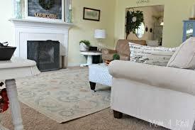 Unique Rug On Carpet Living Room O For Decorating