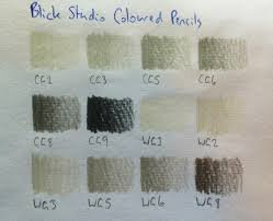 Blick Marker Color Chart Pencils Blick Studio Coloured Pencils Review Artdragon86