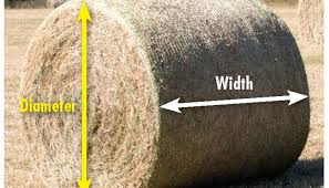 Round Bale Weight Chart What Do Your Hay Bales Weigh Hay And Forage Magazine