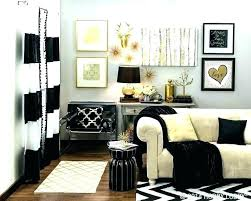 black white and gold bedroom – themehd.com