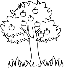 Small Picture Apple tree coloring pages Kids Colouring Pages Pinterest Toy