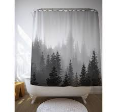 black and gray shower curtain. remarkable gray and black shower curtains best 25 tree ideas on home decor curtain