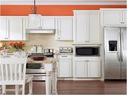 Orange And Yellow Kitchen Kitchen White Kitchen With Orange Accents Orange Kitchen Ideas