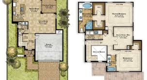 Impressive Floor Plan Of A 2 Story House Home Plans Large Two For Perfect Ideas