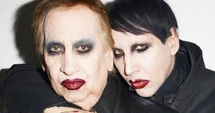 marilyn manson s dad dresses up as him for bizarre photoshoot as singer opens up about family mirror