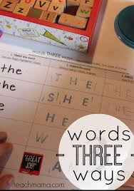 words 3 ways: learning sight words for kindergarten | Learning ...