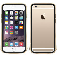 iphone 6 gold front. seidio tetra metal bumper case gold iphone 6 front
